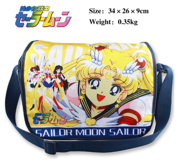 Sailor Moon omuz çantası Sailor Moon Omuz Messenger Okul Çantası