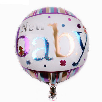 TSZWJ L-007 new baby 18-inch round Happy Birthday balloons holiday party decoration balloon toys for children