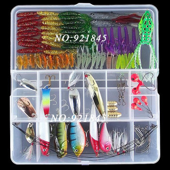 !! 100pcs soft bait small lead head hook lure hard lure set soft fishing lure set soft bait fishing tackle for outdoor