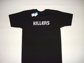 THE KILLERS ROCK BAND SIYAH YENI T Shirt XL VTG PUNK POP ALTERNATIF S-3xl Erkekler 'S Yüksek Kalite Hipster Tees Tops T-SHIRT
