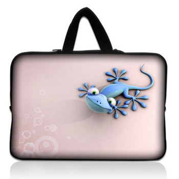 "Lizard 10.1"" 10.2"" Netbook Laptop Carrying Sleeve Case Bag Cover+ Hide Handle For 9.7""-10.2"" Apple, ASUS,ACER, HP,DELL"