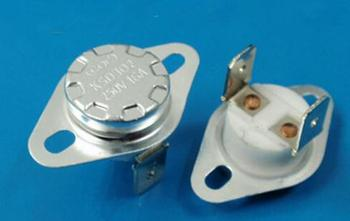 100PCS New and original 150 degrees Normally Closed Ceramic Temperature Switch KSD301/302 16A 250V