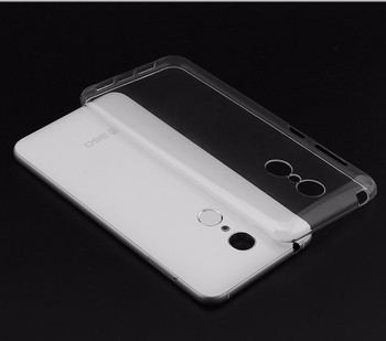 For 360 N4 Qiku Housing Transparent Clear Ultra-Thin Soft TPU Case Phone Cover Back Gel Silicone Shell