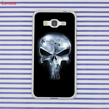Lavaza Punisher Frank Kale Sert samsung Galaxy A3 A5 A7 A8 2016 2017 2018 Grand Başbakan Not 8 5 4 3 2